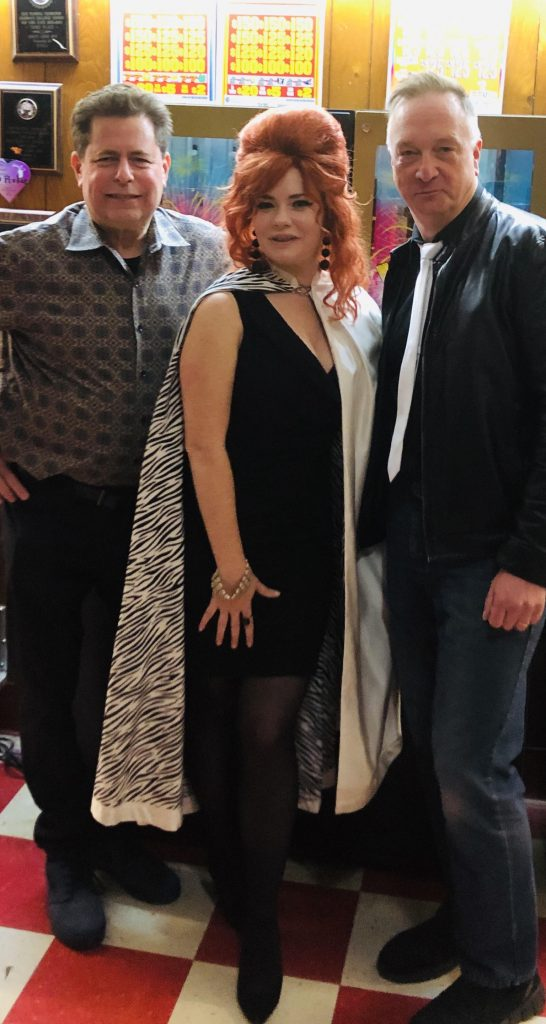 Off The Record Trio (l to r) Bob Resnick, Joanna Palladino-Resnick, Geo Doody.