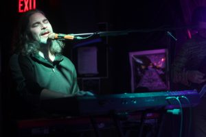 Beau Sasser on Piano. Photo by Amy Modesti.