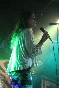 Allie McGuirk on Vocals. Photo by Amy Modesti.