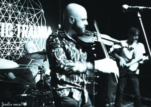 Acoustic Trauma brings the violin into the mix. Photo by Jessica Maceli.