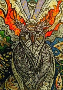 """""""The Messenger,"""" by Sarah Holub Schrom."""
