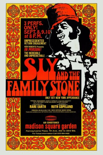 Sly and the Family Stone poster.
