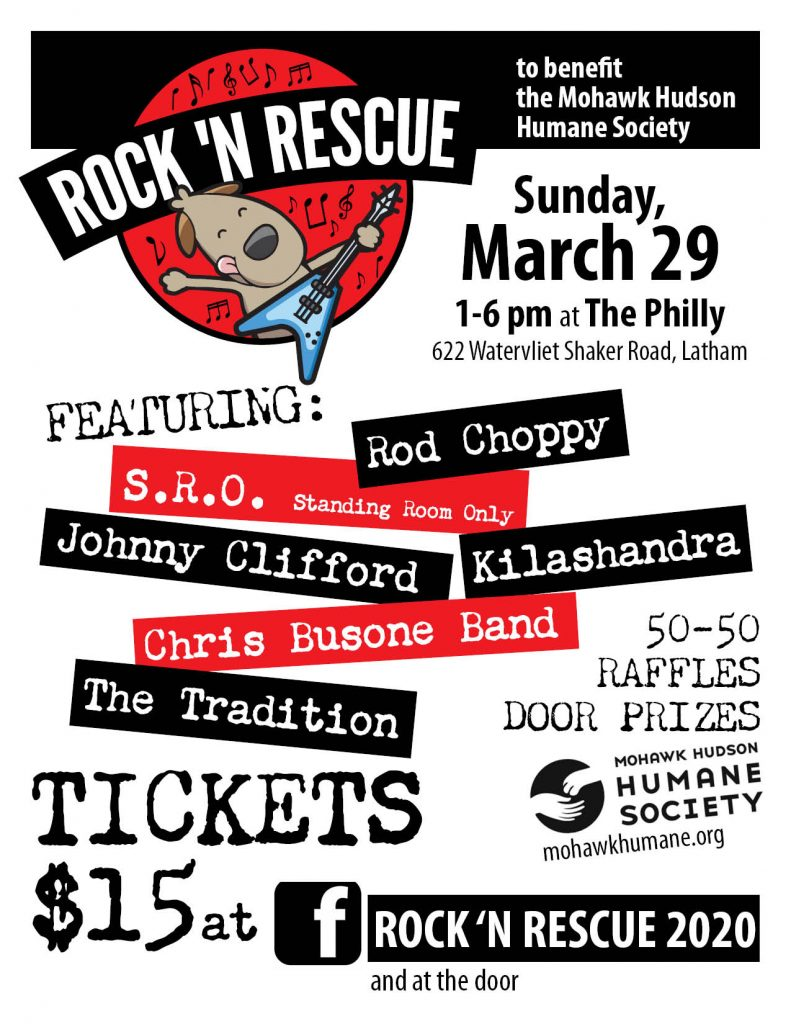 Rock N' Rescue 2020 Official Poster