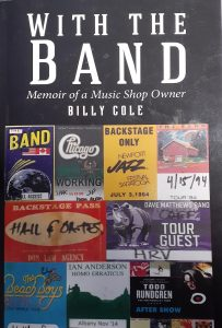 """With the Band"" Book Cover."